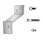 Conjunto Suporte de Alumínio para Protetor de parede TEC 026