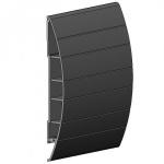 Conjunto Protetor de Parede Bate-Macas PVC TEC 198 20cm 200x4000x30mm