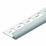 Cantoneira para acabamento em azulejo - Canto Externo em PVC TEC 181 6mm