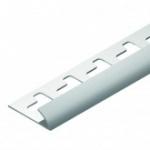 Cantoneira para acabamento em azulejo - Canto Externo em PVC TEC 183 10mm