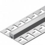Junta de dilatação para pisos cerâmicos - Junta de Dilatação em PVC TEC 191 8mm
