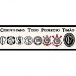 Faixa de parede Corinthians REF SC912-03