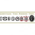 Faixa de parede Corinthians REF SC912-01