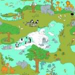 Papel de parede Coleção Safari Friends SF6206