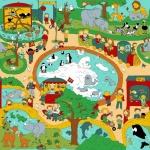Papel de parede Coleção Safari Friends SF6205