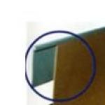 Perfil de acabamento flexível em PVC reto 30x1x20000mm