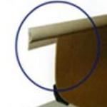Perfil de acabamento flexível em PVC curvo 20x1x20000mm