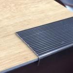 Cantoneira em alumínio para degraus E-500 35x9x0,70x3000mm