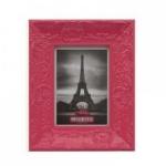 Porta Retrato Retrô Rosa Pink 13x18cm (PONTA DE ESTOQUE 01peça)