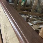 Rodapé Durafloor 8cm carvalho java - fora de linha - 10,50m ou 05 br