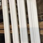Rodapé Exclusive 6cm  branco No 89 - fora de linha - 9,60m ou 04 br