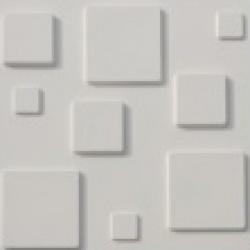 Revestimento para parede decorativo 3d decor branco for Pisos decorativos 3d