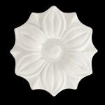 Aplique Poliestireno Santa Luzia No 238 Branco 60x60mm