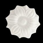 Aplique Poliestireno Santa Luzia No 158 Branco 45x45mm