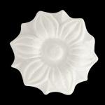 Aplique Poliestireno Santa Luzia No 138 Branco 35x35mm