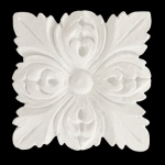 Aplique Poliestireno Santa Luzia No 200 Branco 50x50mm