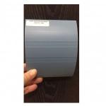 Conjunto Protetor de Parede Bate-Macas PVC TEC 1198N 12cm 127x30x4000mm